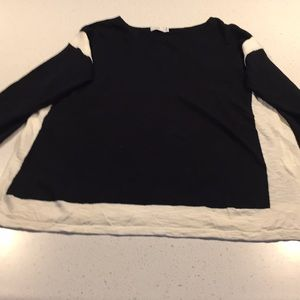 Vince black white color black cotton sweater S